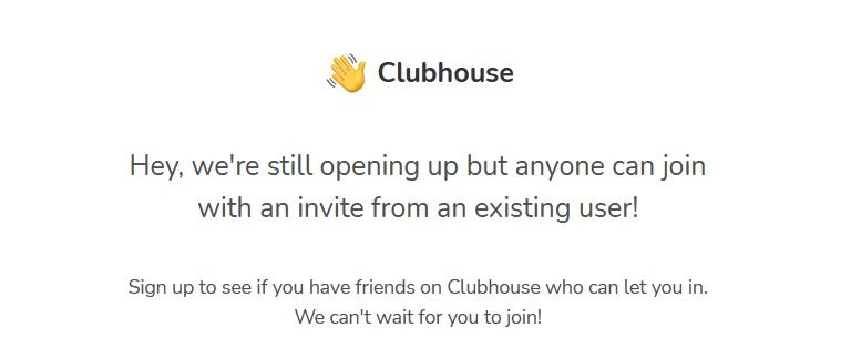 clubhouse pozivnica