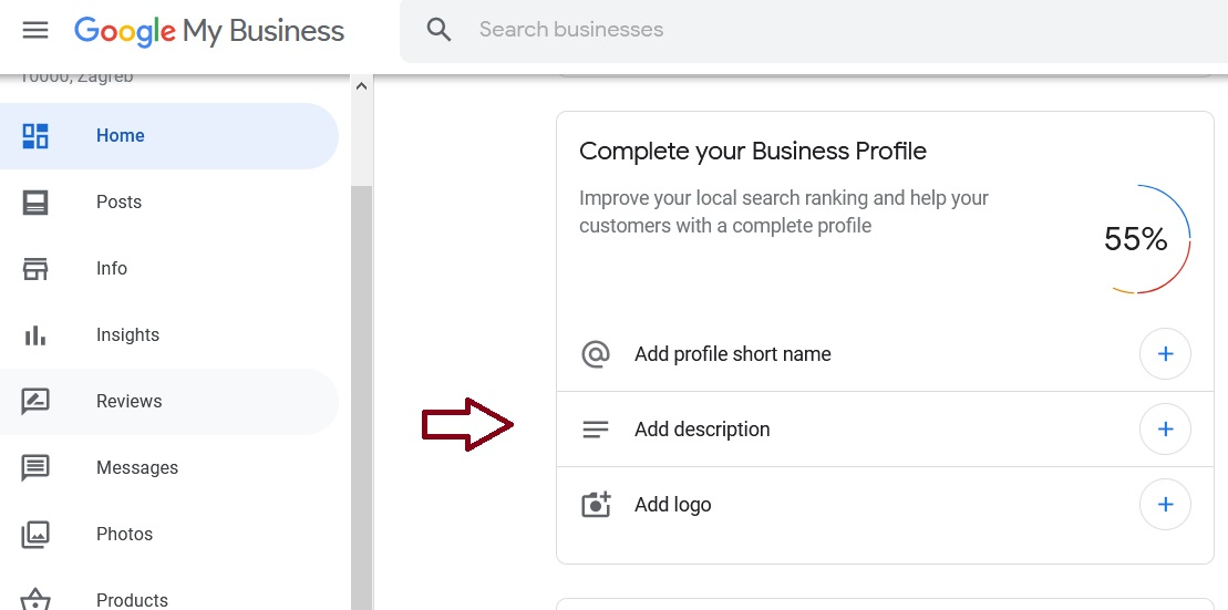 google my business -opis