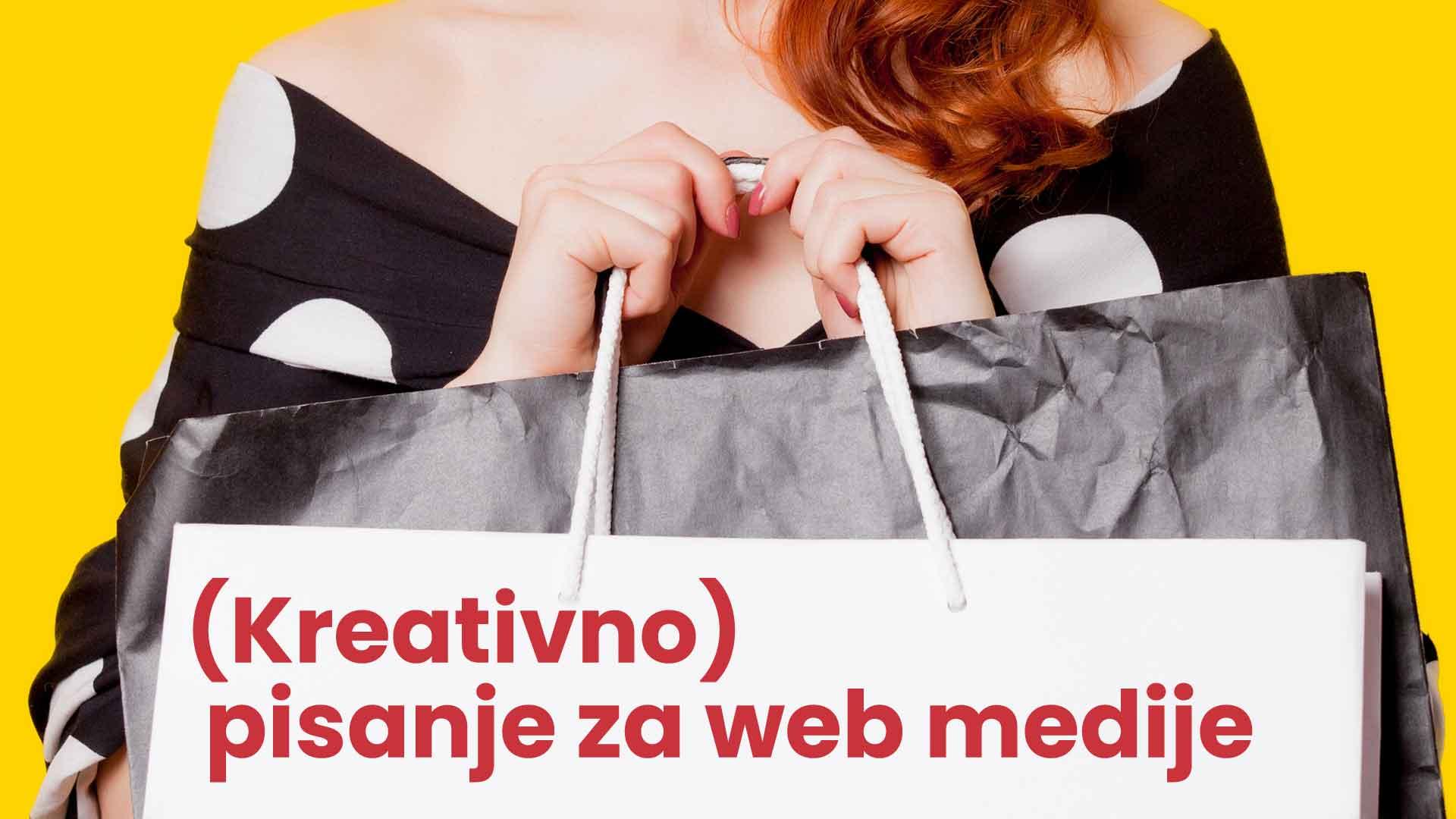 Kreativnp pisanje za web medije
