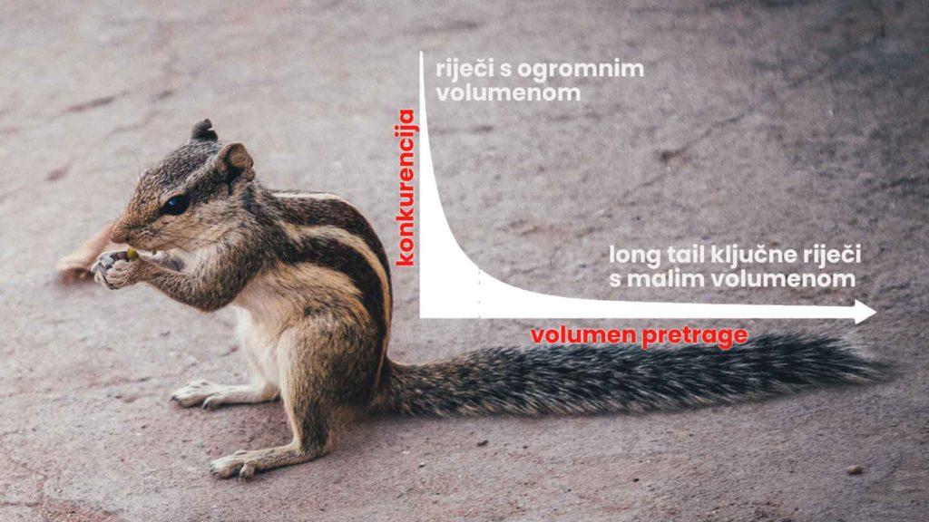 long tail ključne riječi