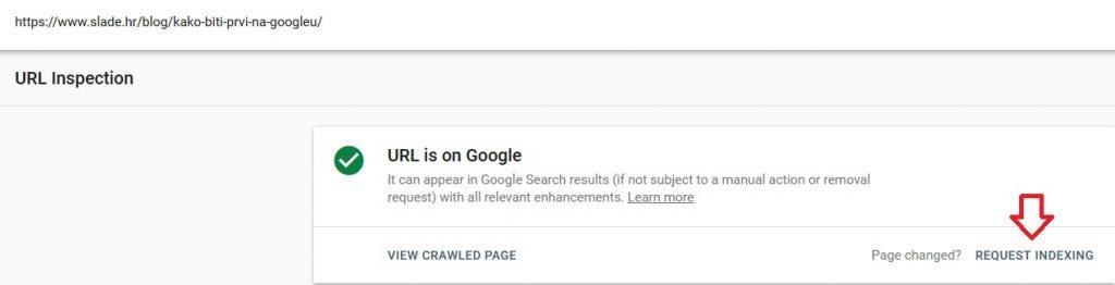 Google search consola