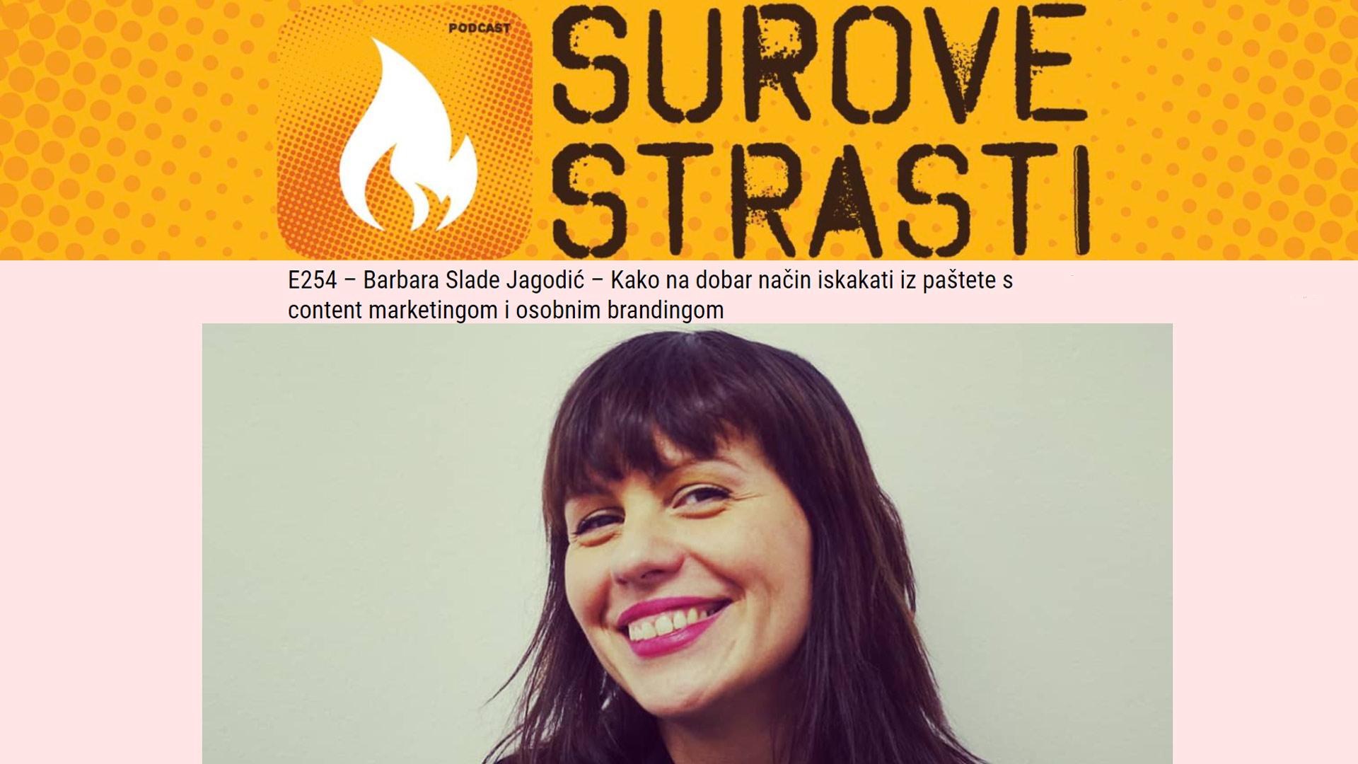 Barbara Slade Jagodić podcast