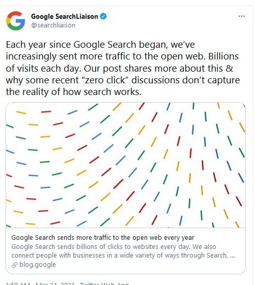 Google zero click pretraga