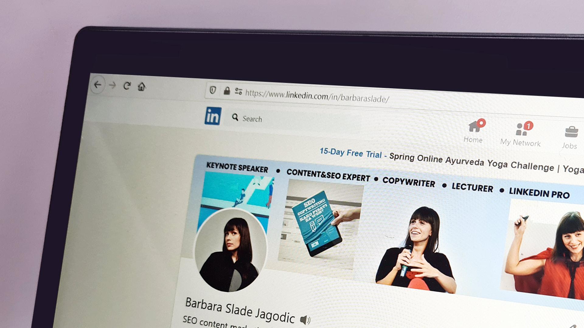 kako napraviti LinkedIn profil