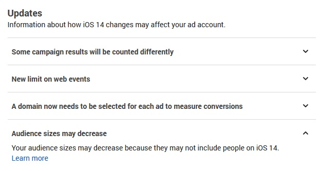 facebook oglasi i Apple