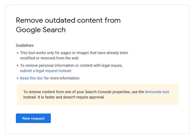 kako ukloniti linkove s googlea