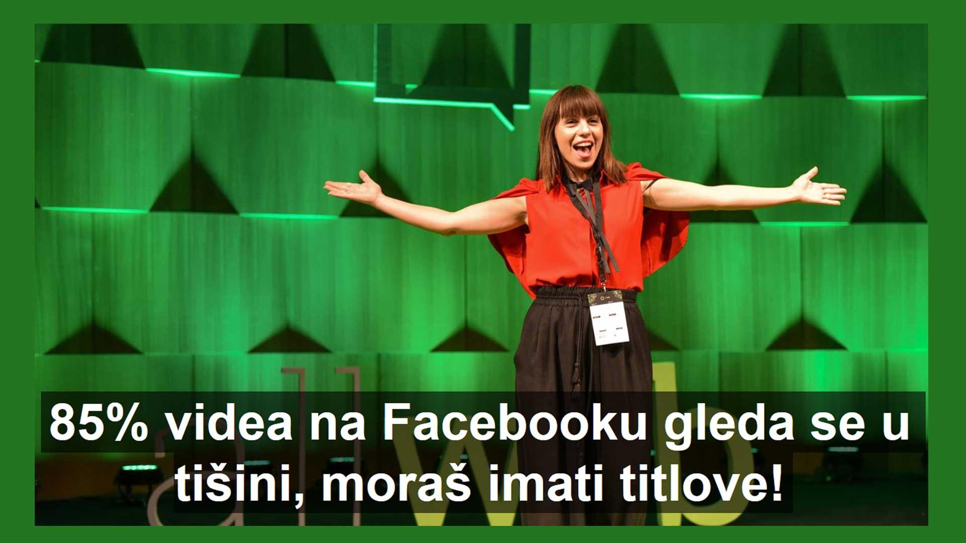 Titlovi za Facebook video su must!