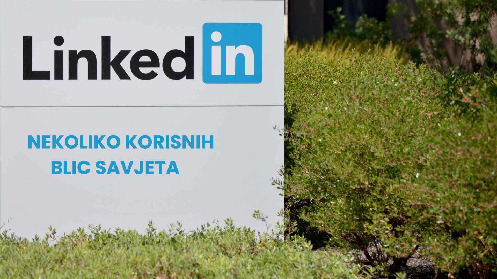 Korisni savjeti za LinkedIn