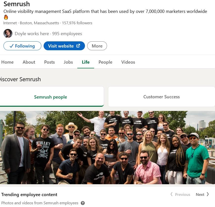 Linkedin dimenzije fotografija za tvrtke
