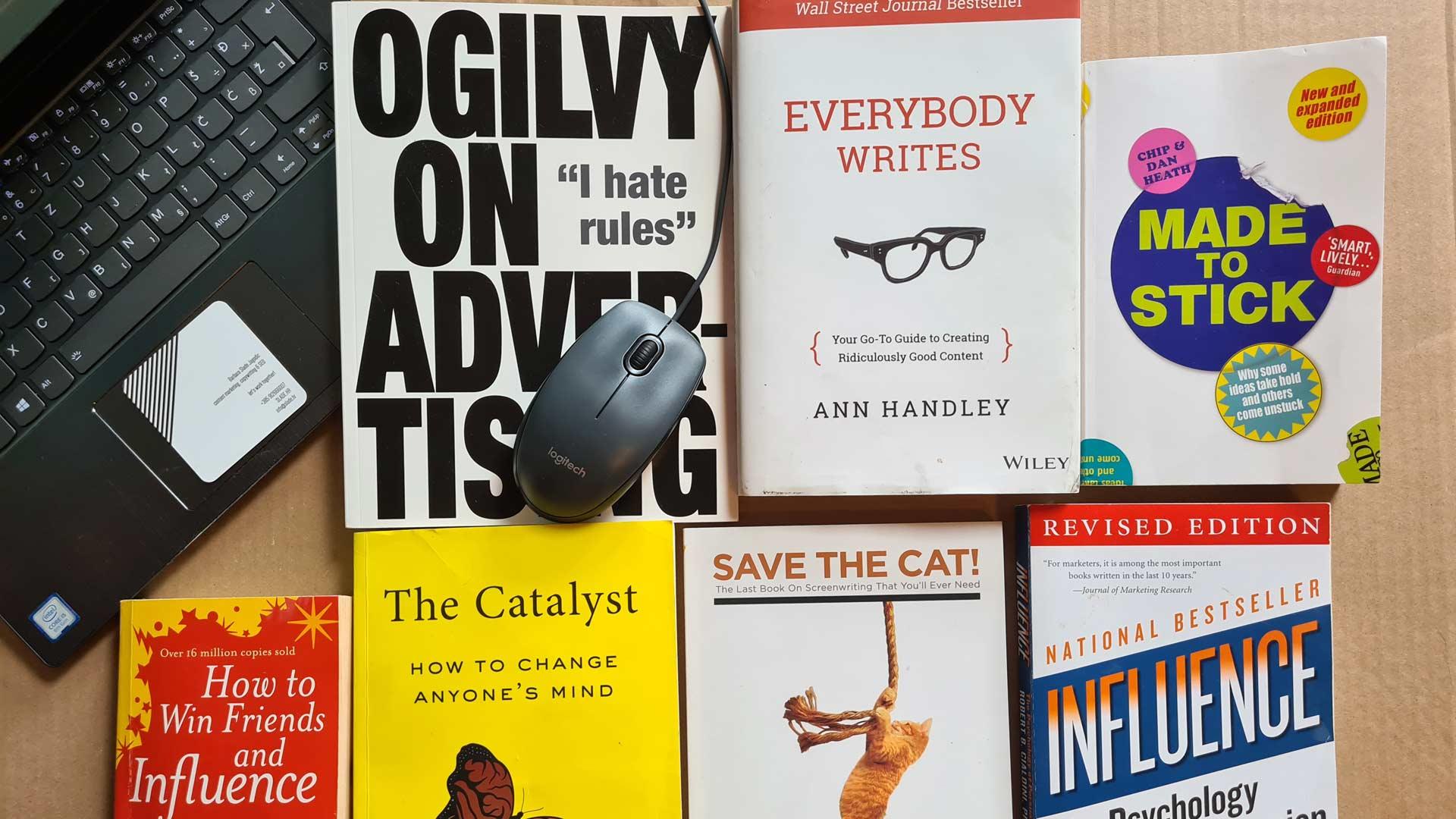Knjige o copywritingu i marketingu