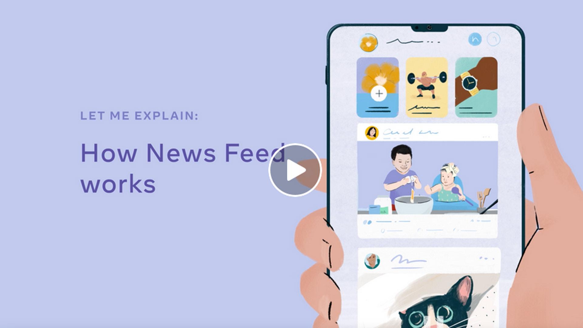 Facebook algoritam za News Feed