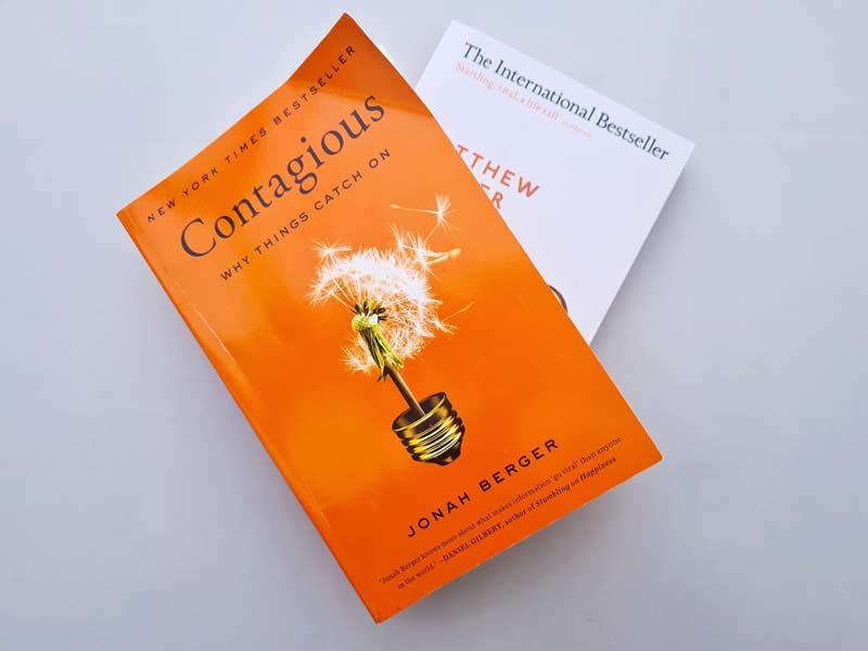 Knjige Jonah Berger - Contagious i Why we sleep
