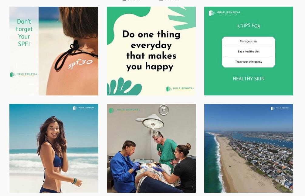 marketing na društvenim mrežama u zdravstvu- instagram