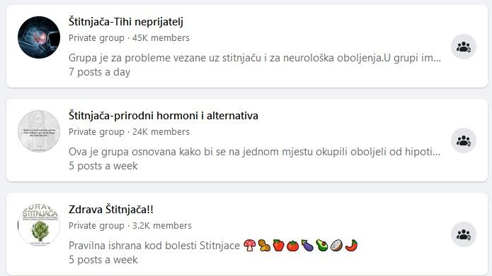 Facebook grupe za doktore