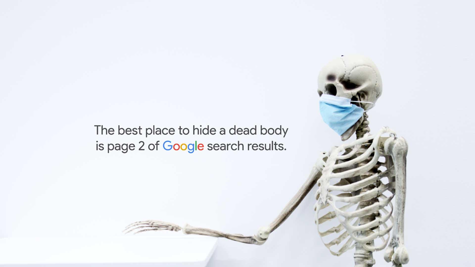 Google 2. stranica